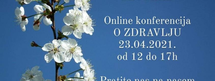 online konferencija O ZDRAVLJU